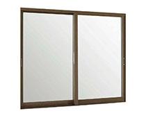 インプラスウッド  2枚引き違い窓