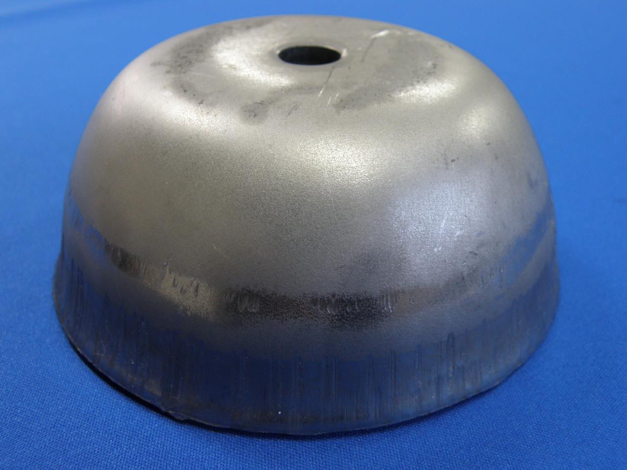 B-3 φ120丸脚皿穴ありt4.5画像