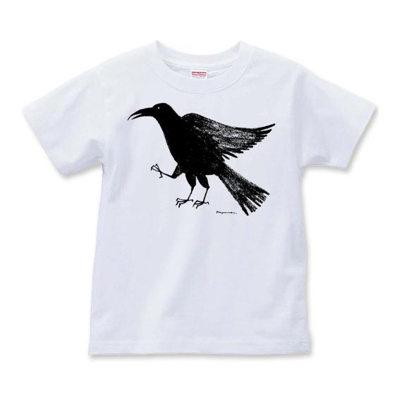 八咫烏(やたがらす)熊野Tシャツ画像