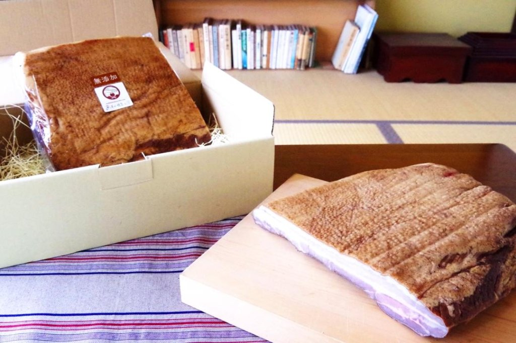無添加ベーコン【1/2枚】 | あすか燻製工房[さくらバーガー](奈良/明日香)の画像