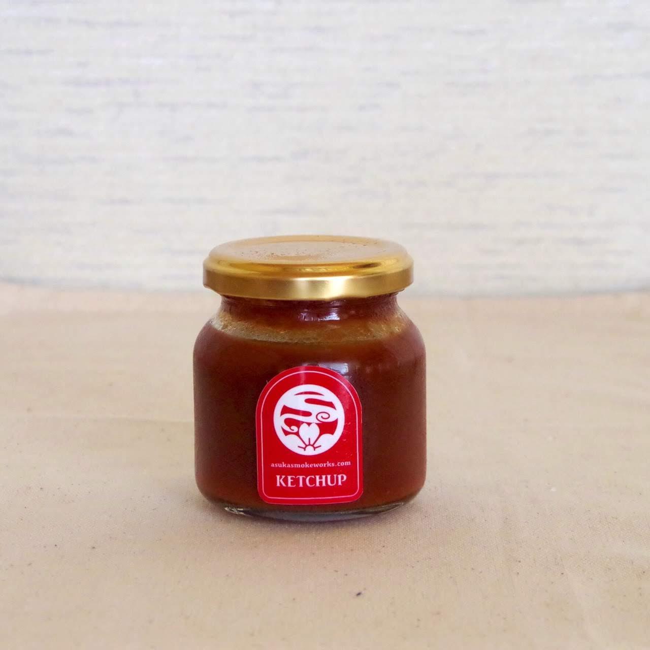 トマト&ベジタブル(ケチャップ)120g   あすか燻製工房[さくらバーガー](奈良/明日香)画像