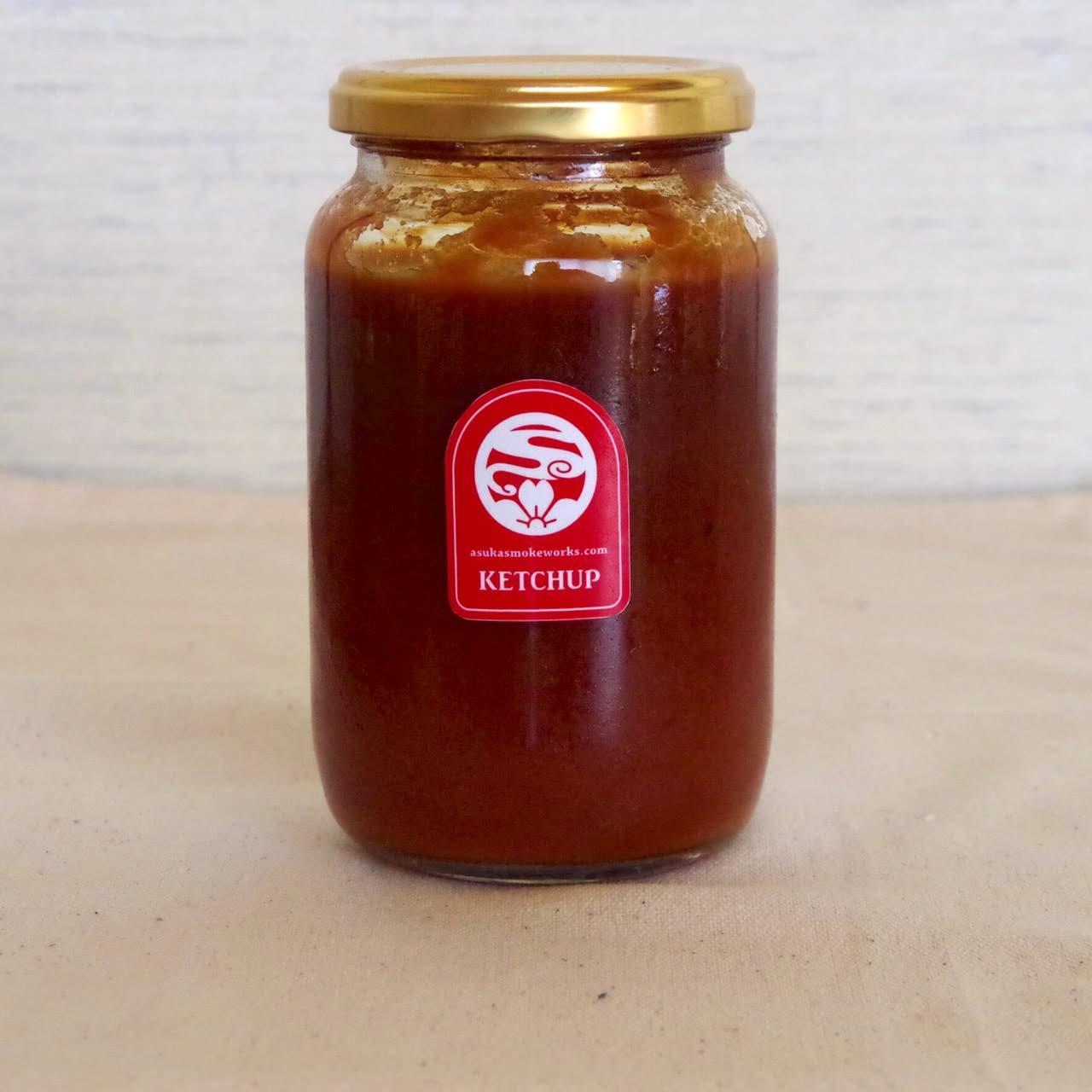 トマト&ベジタブル(ケチャップ)350g   あすか燻製工房[さくらバーガー](奈良/明日香)画像