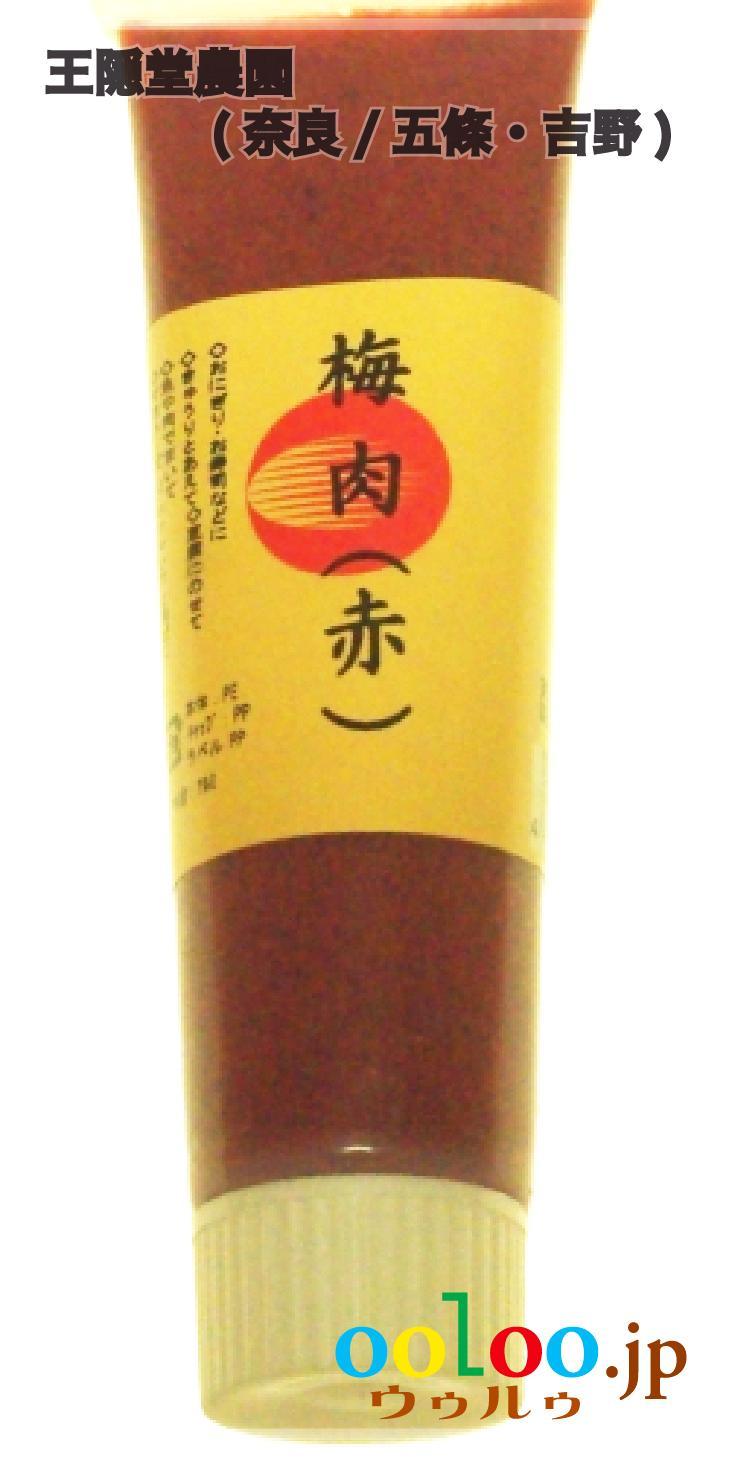 梅肉 100gチューブ入   王隠堂農園(奈良/五條・吉野)画像