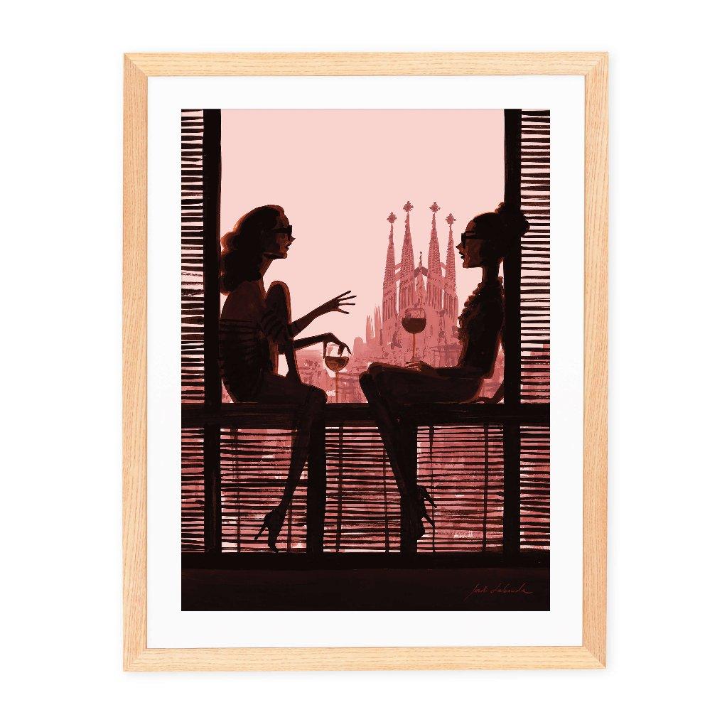 Barcelona Pinkジョルディラバンダ JORDI LABANDAの画像