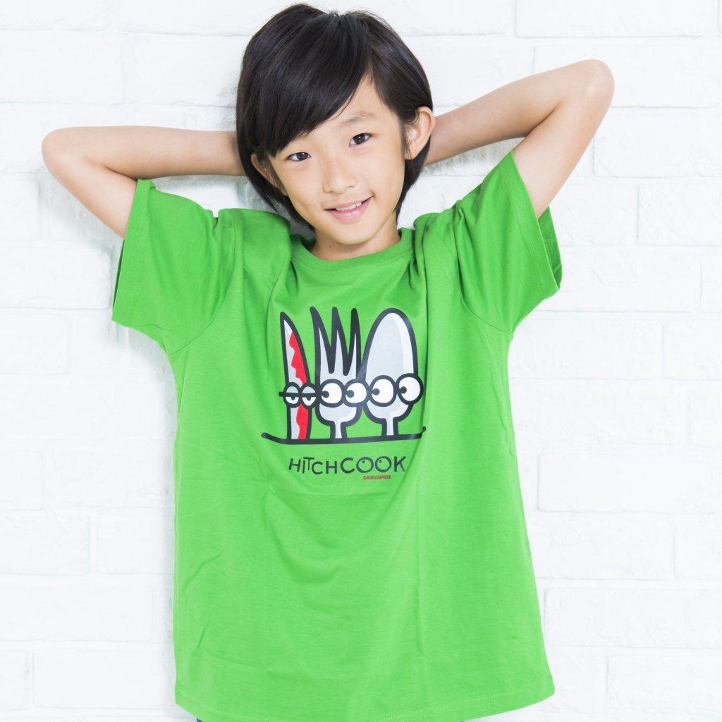 HITCHCOOK Tシャツ グリーンの画像