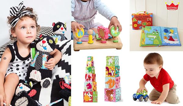 出産祝い、プレゼントに!ベビー用知育玩具、子ども用おもちゃ