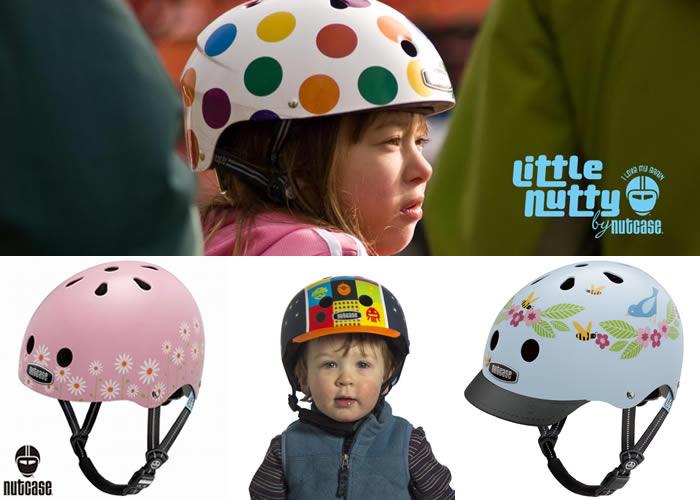 安全&おしゃれな自転車用ヘルメット「ナットケース」