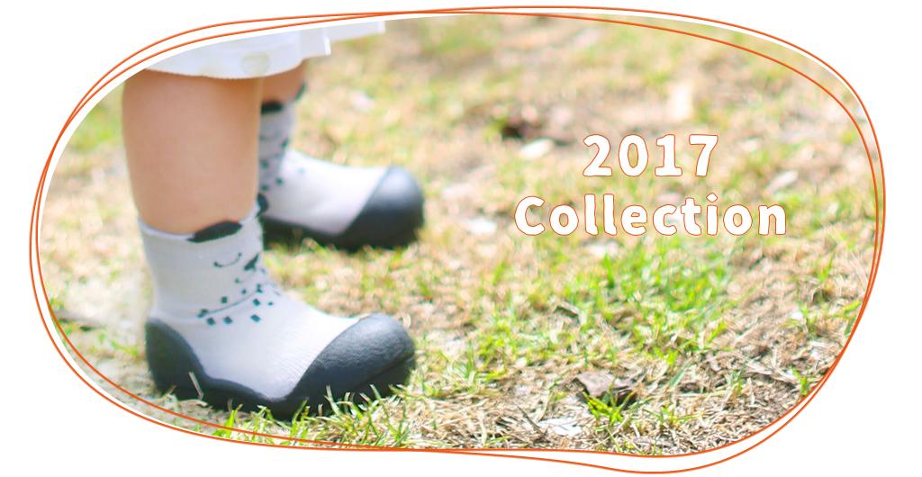 出産祝いに!歩きはじめの赤ちゃん、ベビーに安心のベビーシューズ「アティパス」キュートなアニマルシリーズグレーの画像