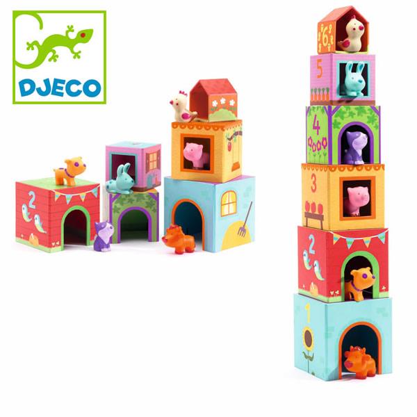 出産祝いなどのプレゼントに!フランスベビー知育玩具ブランド「ジェコ」ベビー用おもちゃタパニファームの画像