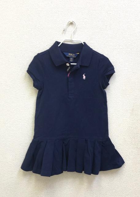 セール大幅値下げ!アメリカベビー服ブランド「ポロラルフローレン」子供服ポロシャツワンピース3Tの画像