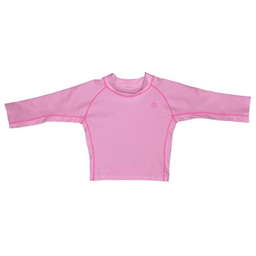 アイプレイ iplay 子供用水着・ベビー用スイムスーツラッシュガード長袖 軽量・速乾UPF50+ピンクの画像