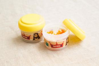 安心の日本製☆日本発ベビー用品・キッズ用品ブランド「stampleスタンプル」離乳食コンテイナー,おやつ入れ画像