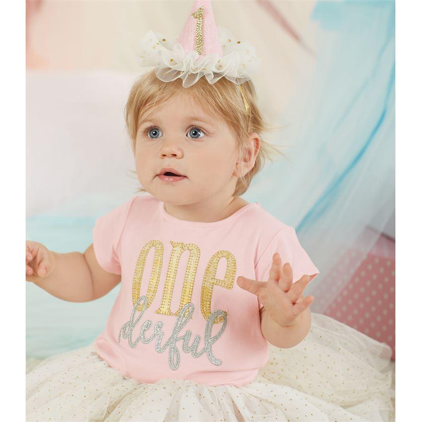 1歳のお誕生日パーティハット☆マッドパイベビー用品