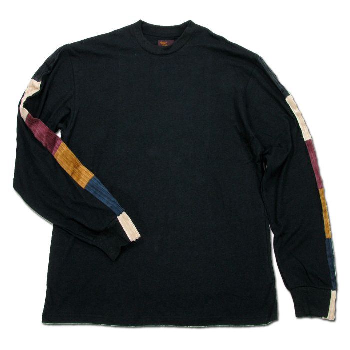 Phatee - LINE PATCH L/S TEE / BLACK画像