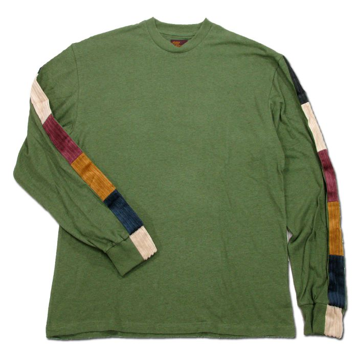 Phatee - LINE PATCH L/S TEE / OLIVE画像