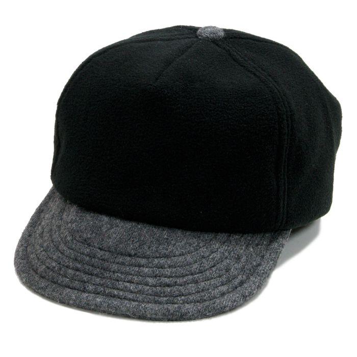 Phatee - PHAT CAP / FLEECE BLACK画像