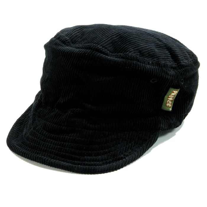 Phatee - HALF CAP CORD / BLACKの画像