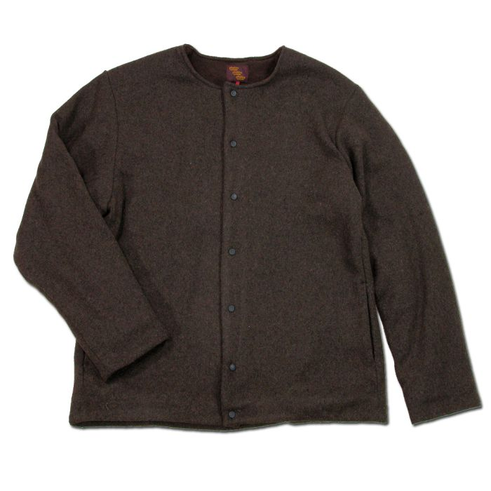 Phatee - UNPRESSION CARDIGAN  / BROWN画像