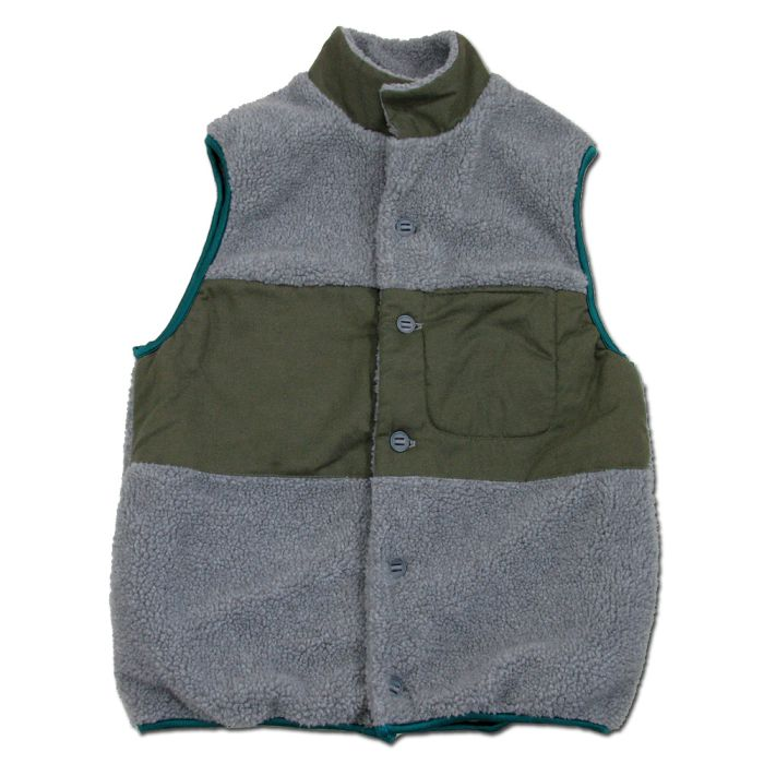 Phatee LABORATORY - NASTA VEST / GREY (SAMPLE)の画像
