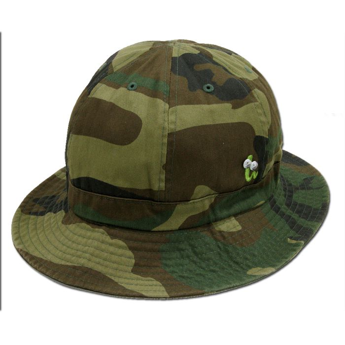 Phatee - GREEN BUG HAT / CAMEL画像