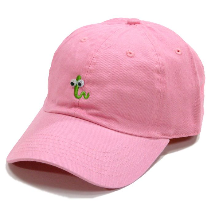Phatee - GREEN BUG CAP / PINK画像