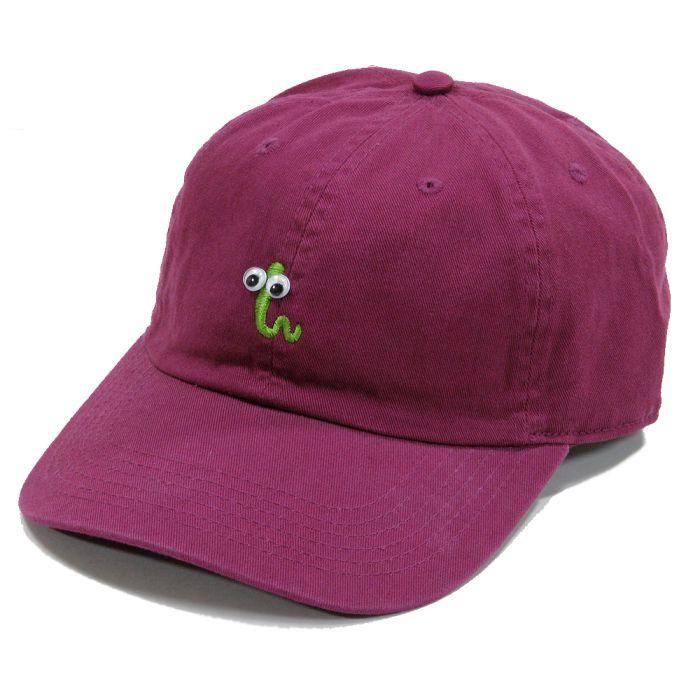 Phatee - GREEN BUG CAP / BURGUNDY画像