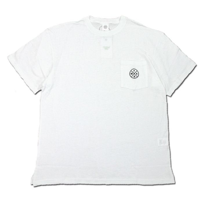 Phatee - HEALTHY STATE POCKET TEE / WHITEの画像