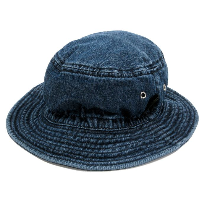 Phatee - BUCKET HAT / WASHED INDIGO画像