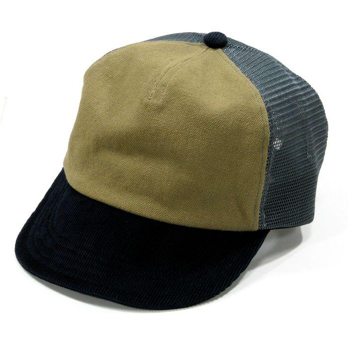 Phatee - MESH PHAT CAP / BEIGE x NAVY x GREY画像