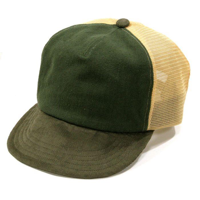 Phatee - MESH PHAT CAP / OLIVE x BROWN x BEIGEの画像