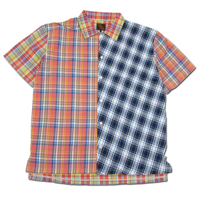 Phatee - WIDE SOFT SHIRTS CHECK / CHECK MULTI2 (OFFICIAL SHOP LIMITED)画像