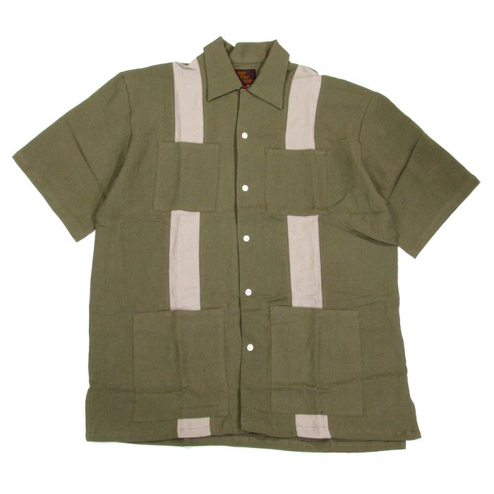 Phatee - CUBE SHIRTS / OLIVEの画像
