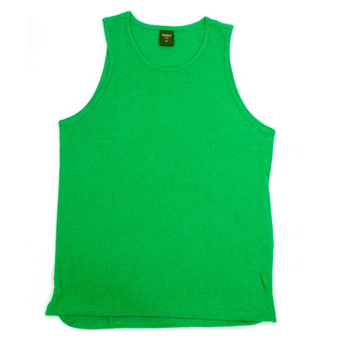 Phatee - HEALTHY TANK TOP / GREEN画像