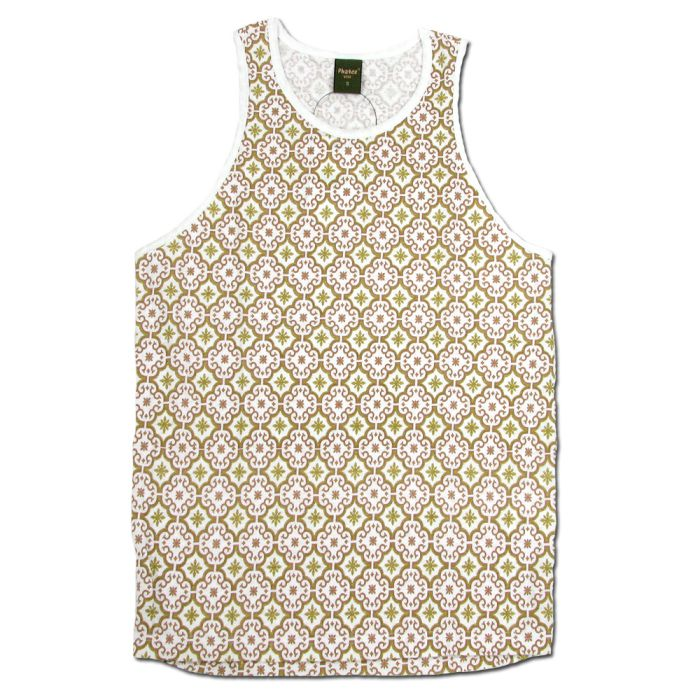 Phatee - HEALTHY TANK TOP PRINTED / MOROCCO BEIGEの画像