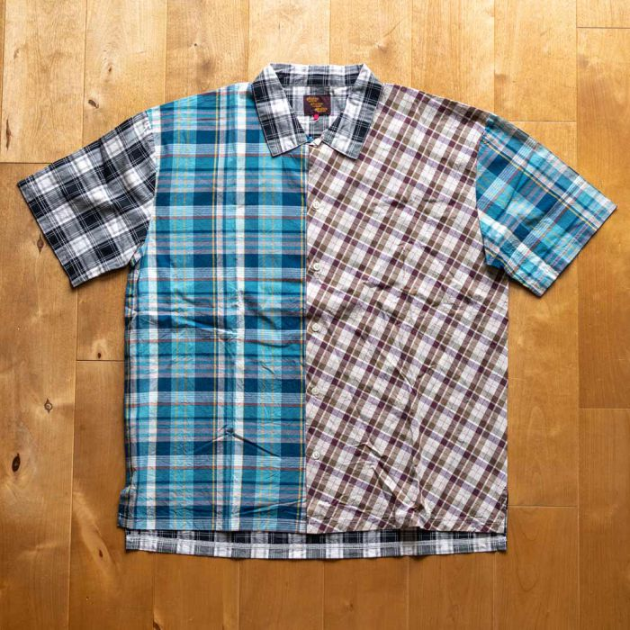 Phatee LABORATORY - WIDE SOFT SHIRTS CHECK / MULTI (SAMPLE)の画像