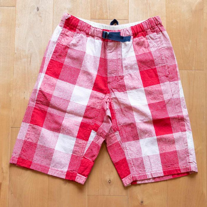 Phatee LABORATORY - VENUE SHORTS / RED CHECK (SAMPLE)の画像