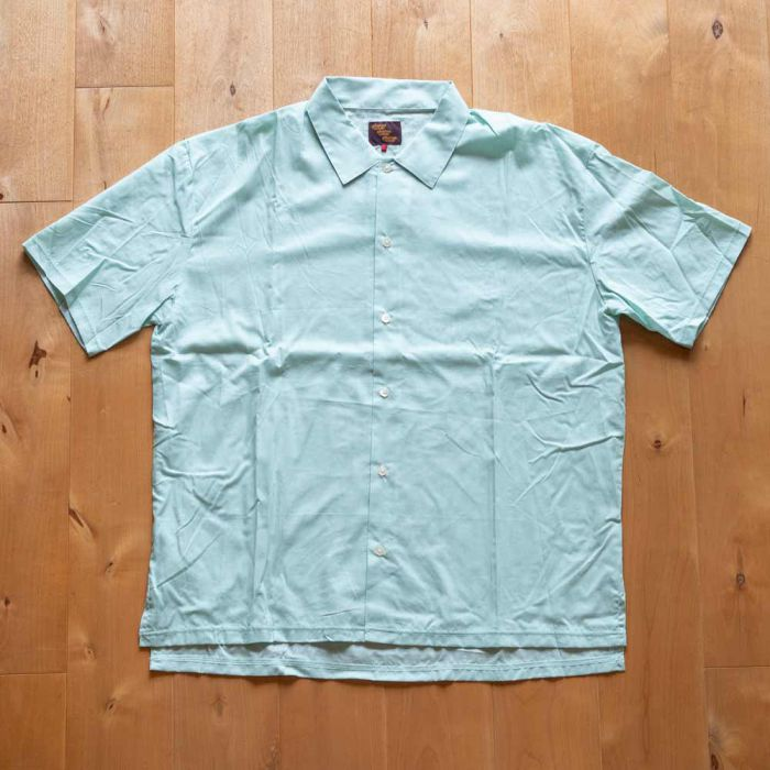 Phatee LABORATORY - WIDE SOFT SHIRTS / MINT (SAMPLE)の画像