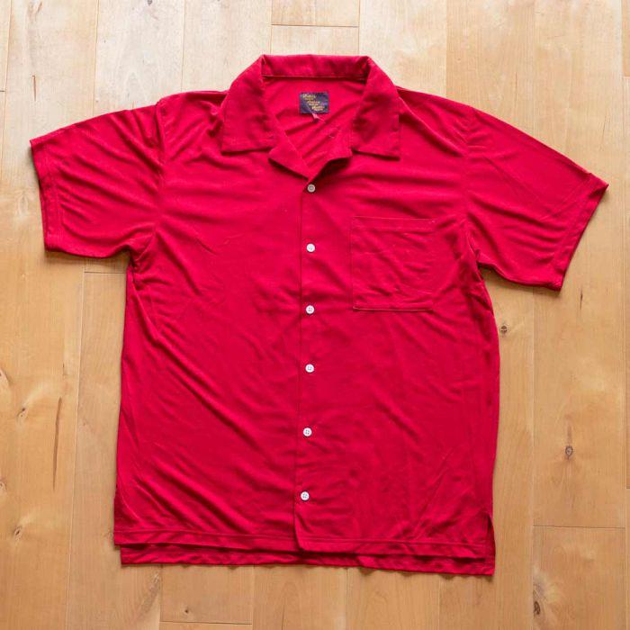 Phatee LABORATORY - TRAVEL SHIRTS / RED (SAMPLE)の画像