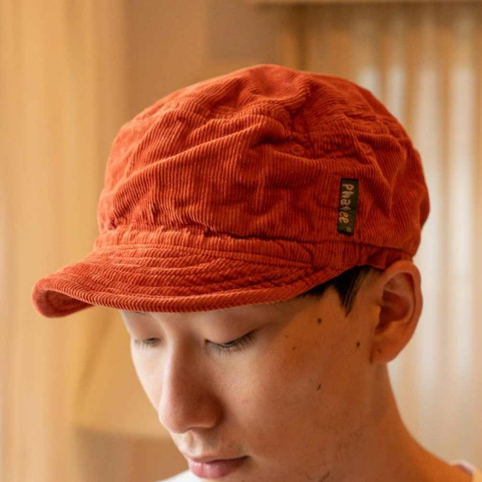 Phatee LABORATORY - HALF CAP / ORANGE (SAMPLE)の画像