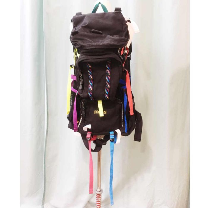 Phatee LABORATORY - BACK PACK / BLACK (SAMPLE)の画像