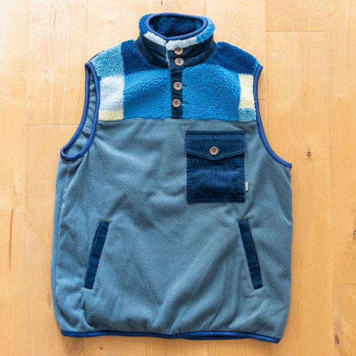 Phatee LABORATORY - NASTA PULL VEST / GREY (SAMPLE) (Medium)の画像