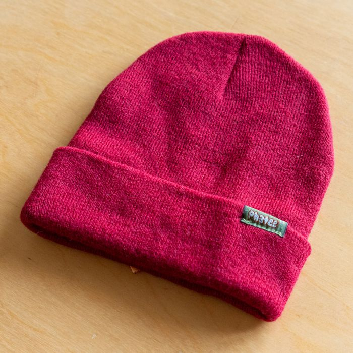 Phatee LABORATORY - KNIT CAP WAPPEN / RED (SAMPLE)の画像