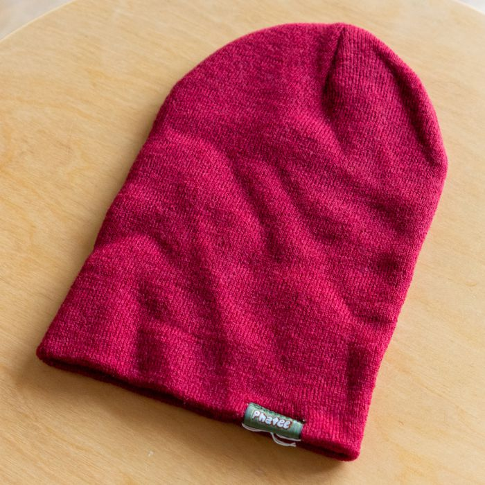 Phatee LABORATORY - KNIT CAP / RED (SAMPLE)の画像