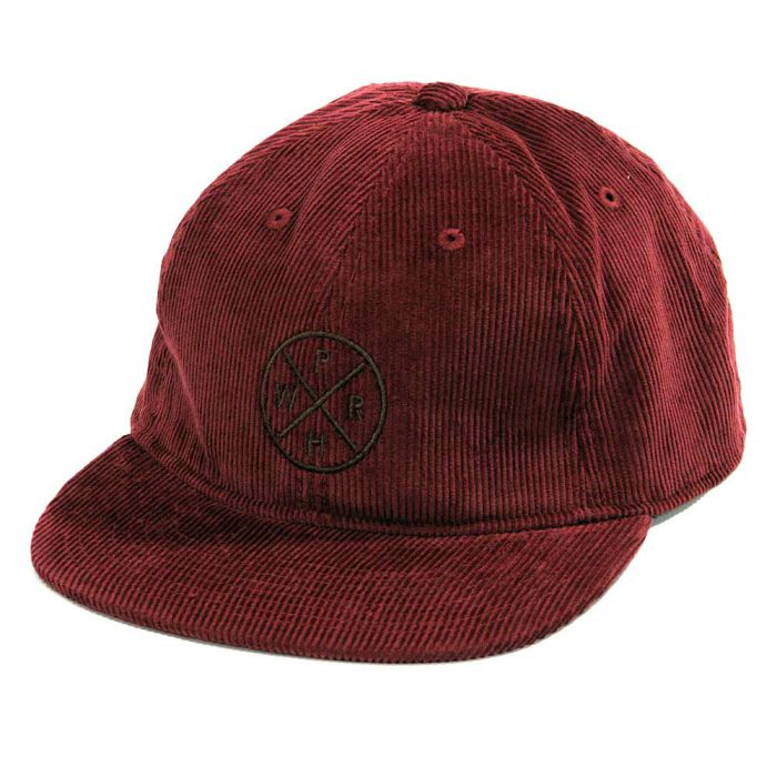 Phatee - HEALTHY STATE FLAT CAP CORD / BURGANDY CORD (OFFICIAL SHOP LIMITED)画像