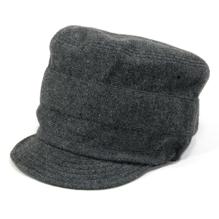 Phatee - NEW CAP RECYCLE WOOL / CHACOAL WOOL画像