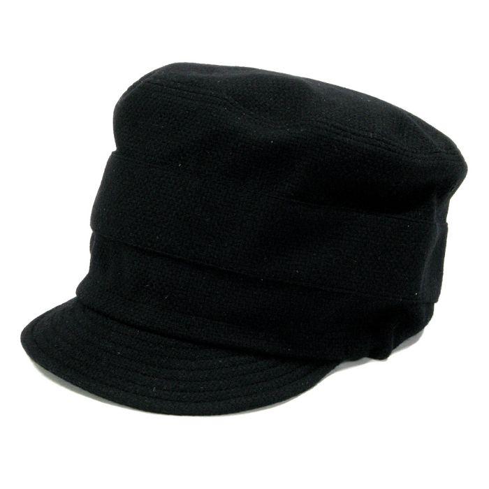 Phatee - NEW CAP RECYCLE WOOL / BLACK WOOLの画像