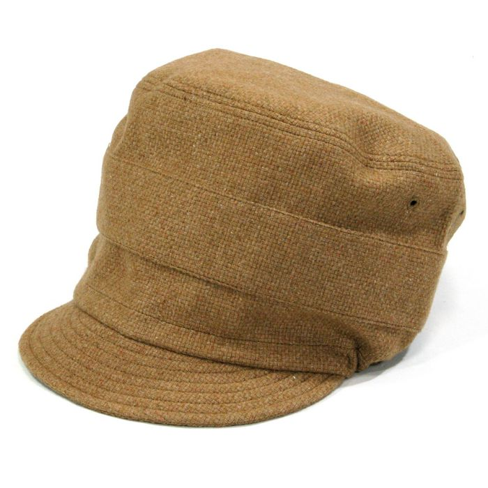 Phatee - NEW CAP RECYCLE WOOL / CAMEL WOOLの画像