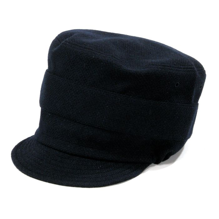 Phatee - NEW CAP RECYCLE WOOL / NAVY WOOL画像