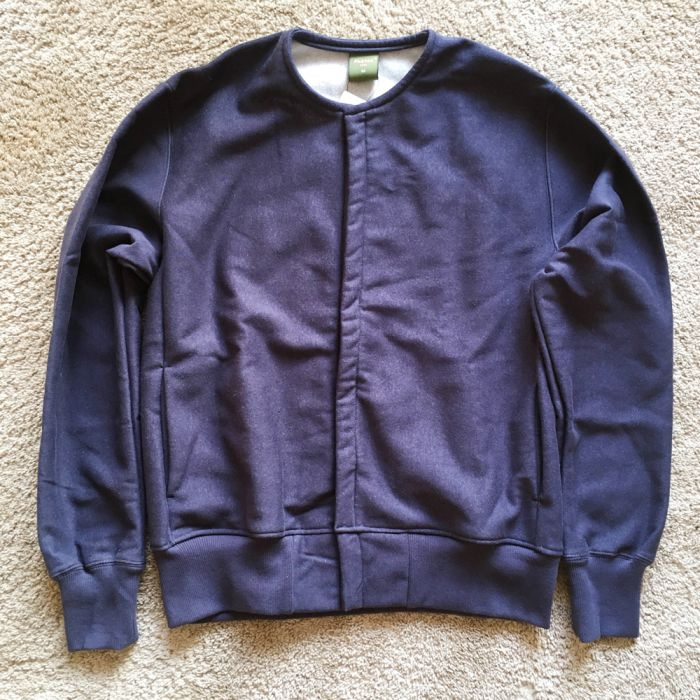 Phatee LABORATORY - SNAP CARDIGAN / NAVY (SAMPLE) (Medium)画像
