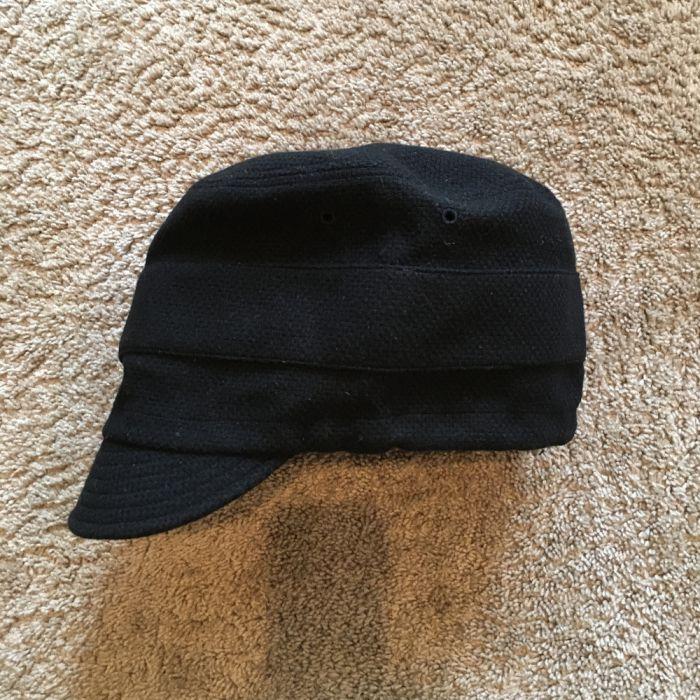 Phatee LABORATORY - NEW CAP RECYCLED WOOL / BLACK (SAMPLE)画像
